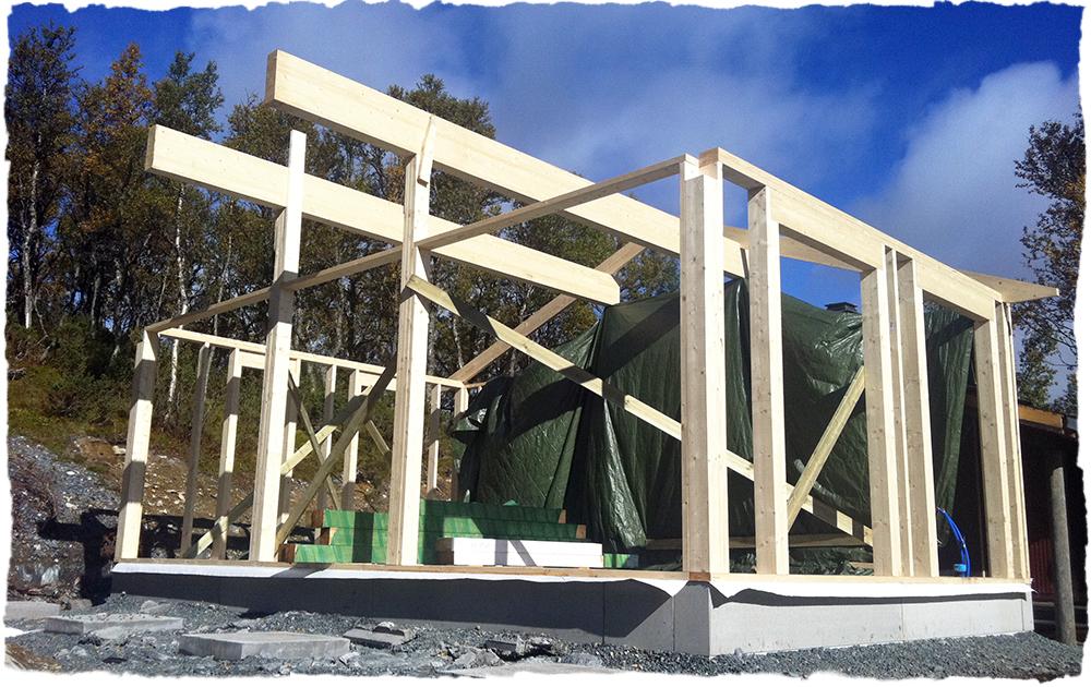Hvordan fundamentere hytte