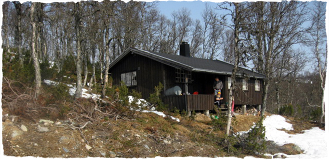 Kledning på hytta