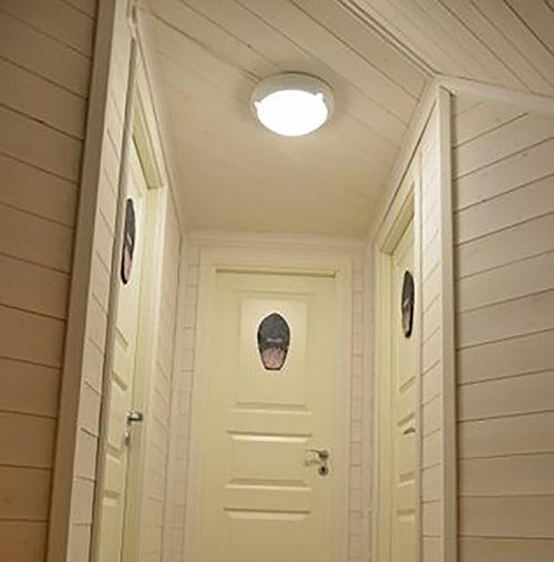 Dører til soverom loft