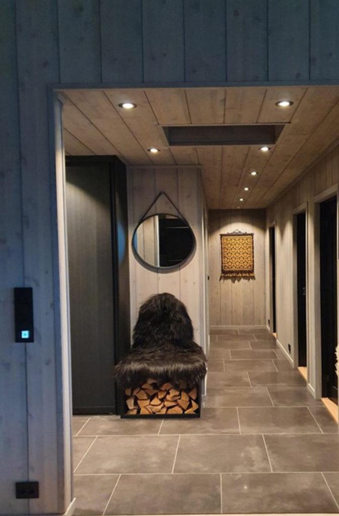 Bilde av gang - Fjellroa - finalist nummer 4 - hytteprisen 2021